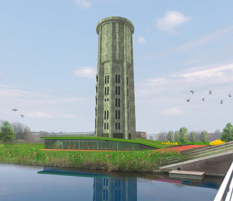 Watertoren wordt markant landmark