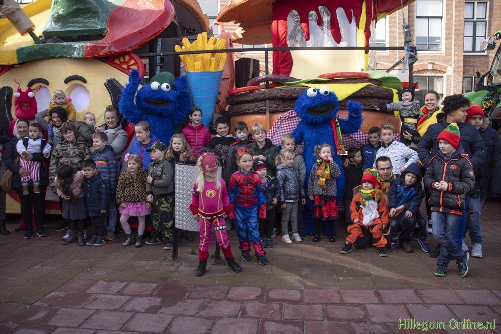 Carnavalsoptocht voor kinderen