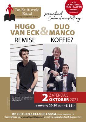 Cabaret: Hugo van Eck & Duo Manco @ De Kulturele Raad | Hillegom | Zuid-Holland | Nederland