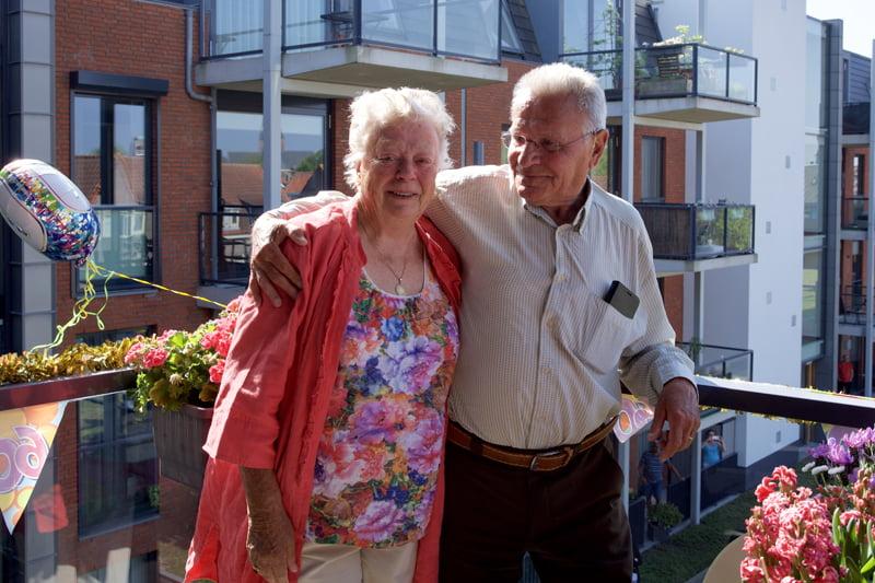 60-jarig bruidspaar Weijers in het zonnetje gezet