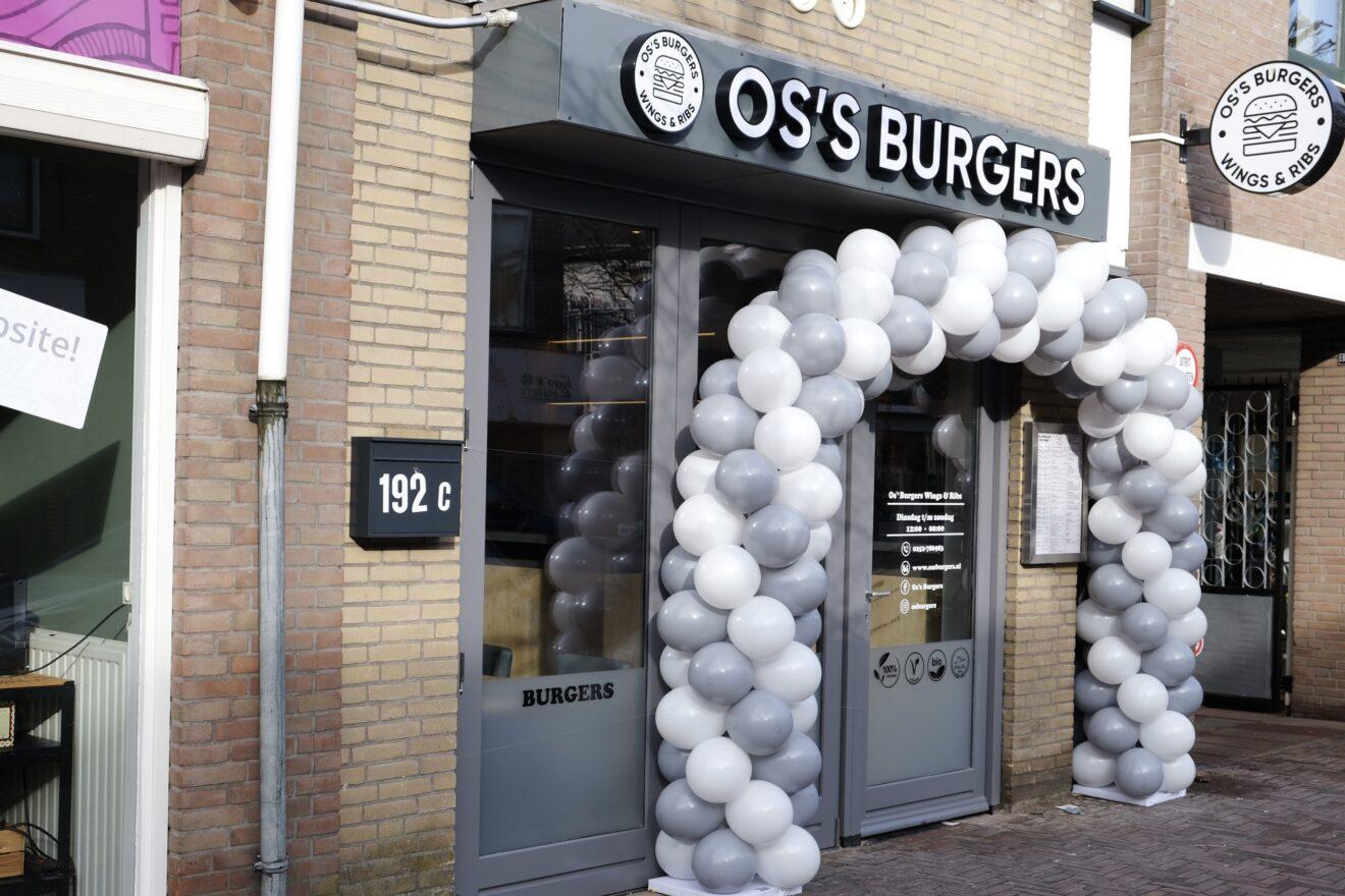 Restaurant 'Os's Burgers, Wings & Ribs' opent haar deuren in de Hoofdstraat