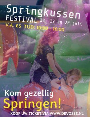 springkussenfestival @ De Vosse | Hillegom | Zuid-Holland | Nederland