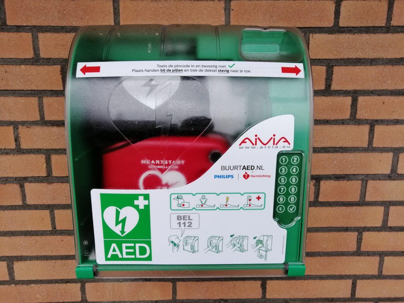 AED voor Wijk Treslong