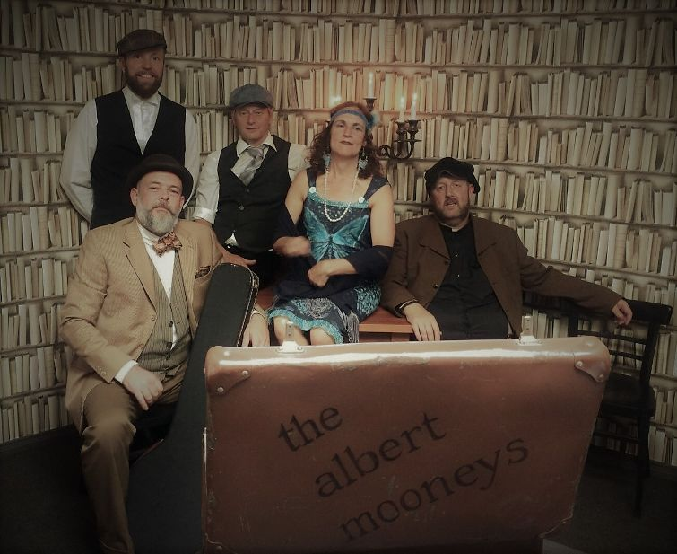 Bijzonder optreden The Albert Mooneys
