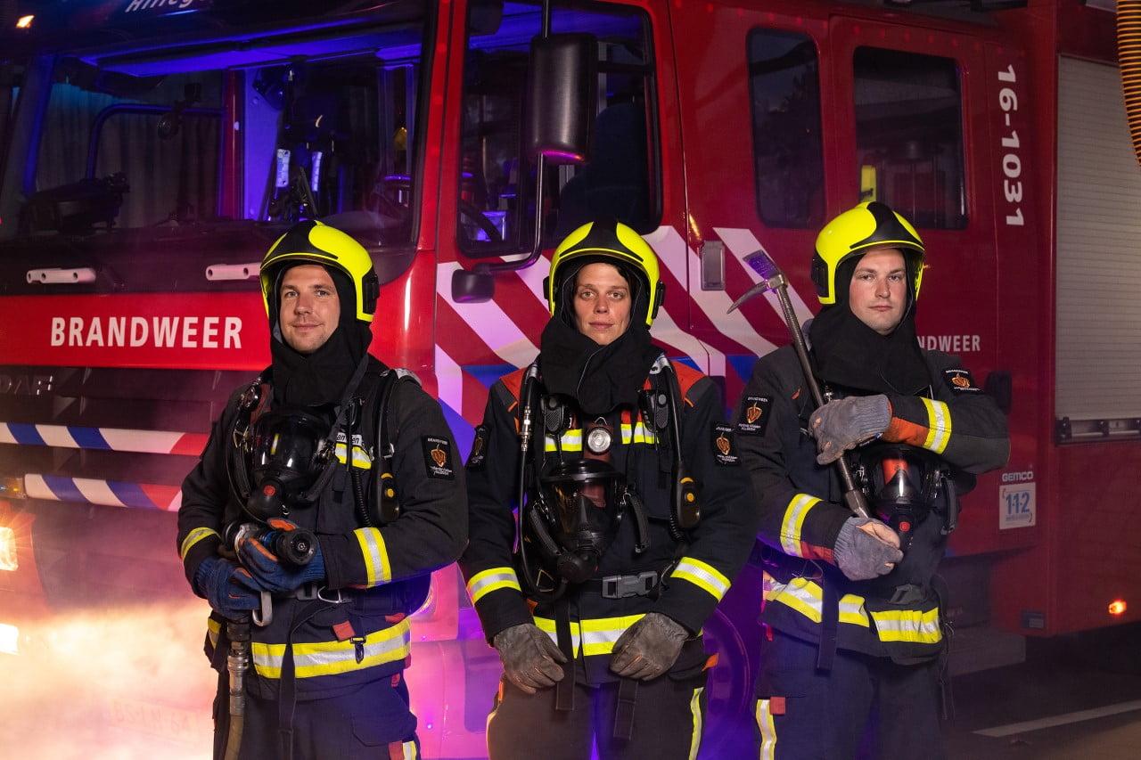 Brandweer Hillegom in tv-programma 'Als de Brandweer'