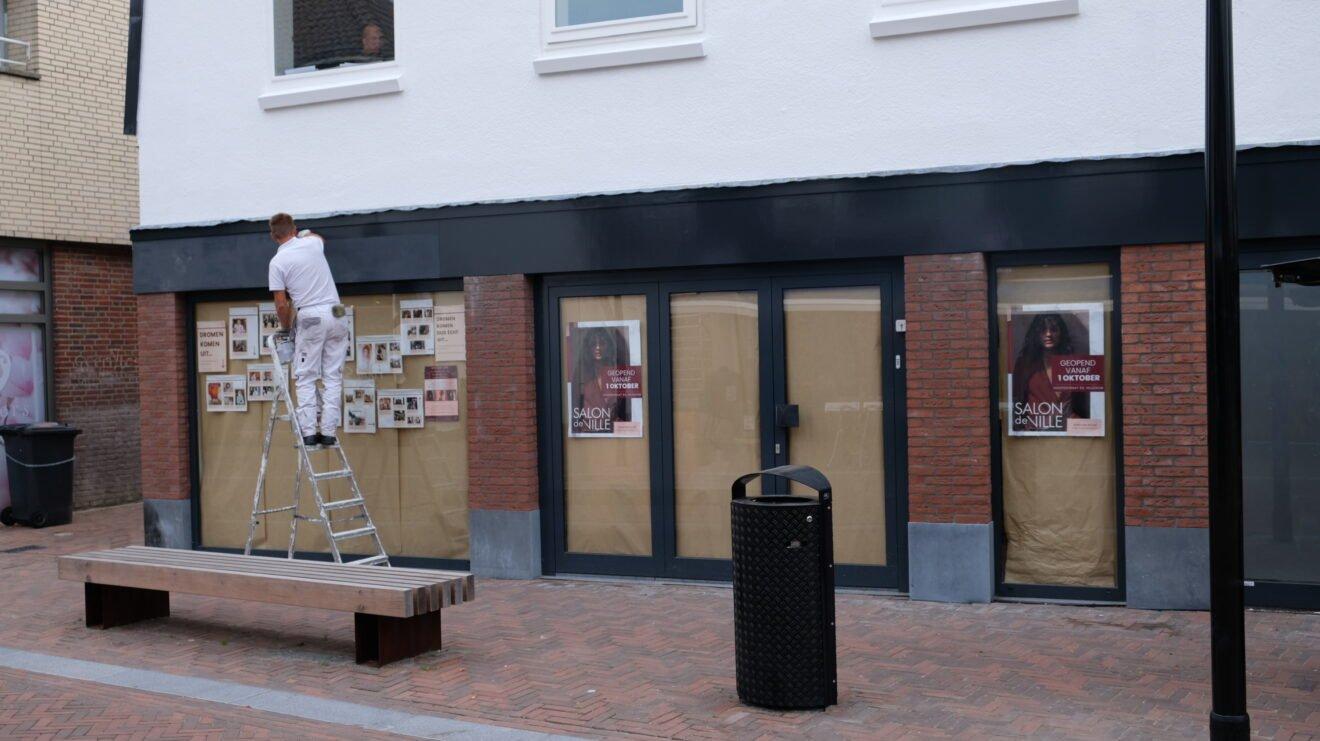 Veel nieuwe winkels in Hillegom