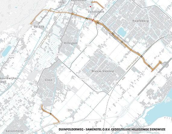 Noord-Holland ziet af van Duinpolderweg