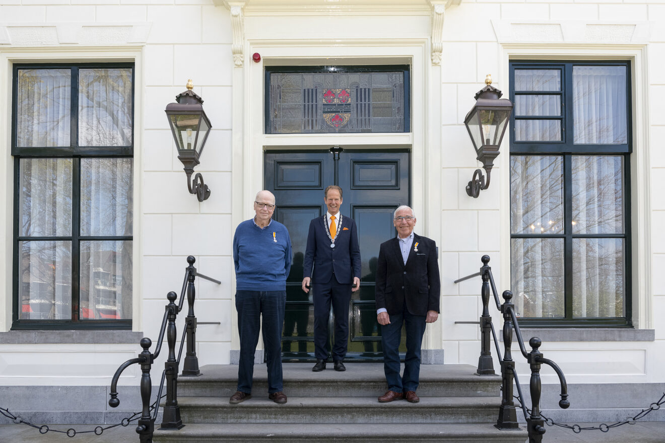 Drie lintjes in Hillegom