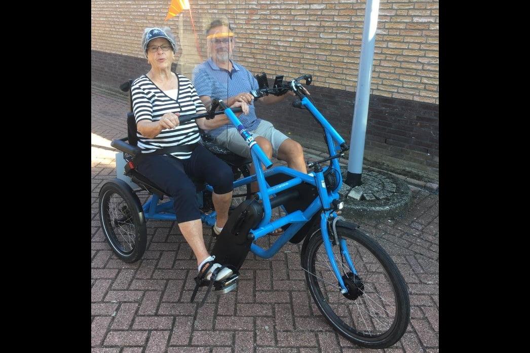 Steun fietsmaatjes Hillegom doen mee aan Actie Warm Hart