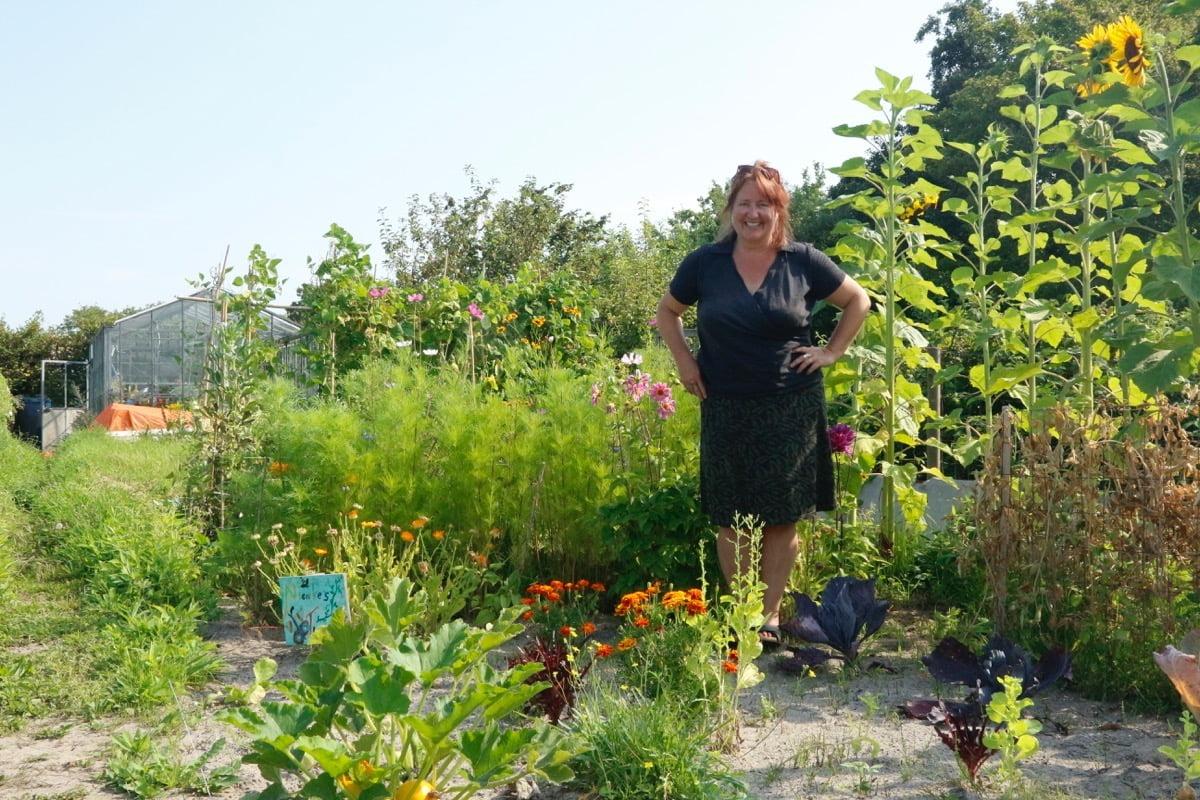 De tuinambassadeurs helpen iedereen graag op weg!
