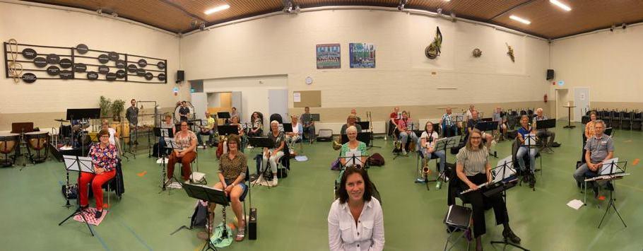 Hillegomse Harmonie Kapel hervat repetities