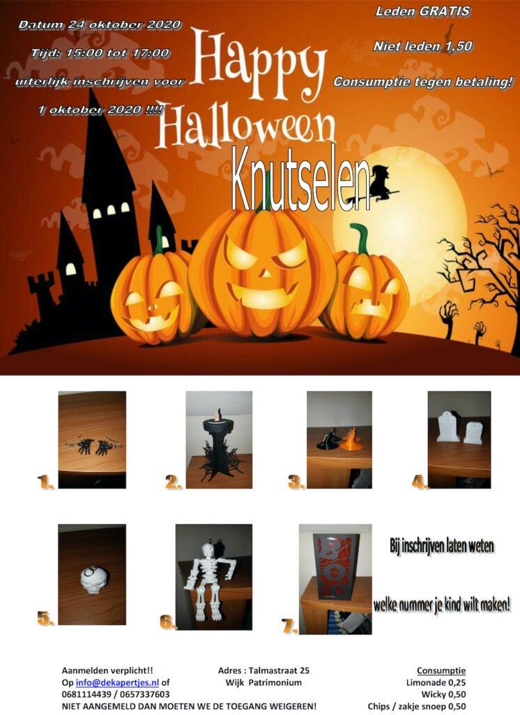 Halloween knutselen @ Speeltuin Kapertjes | Hillegom | Zuid-Holland | Nederland