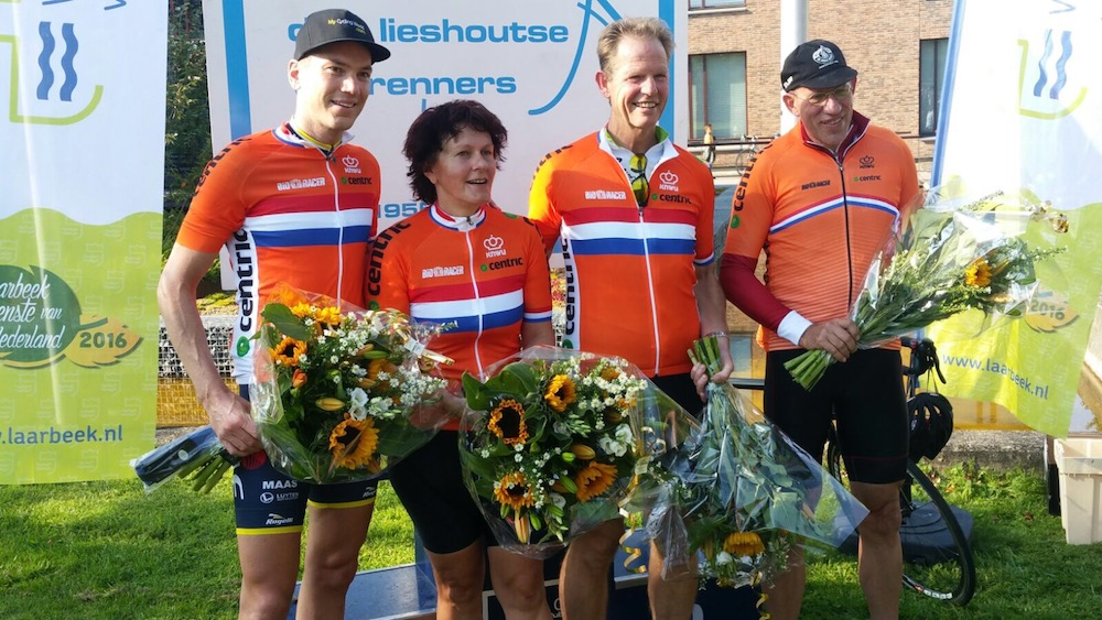 Wielerdag Nederlandse Gemeenten in Bollenstreek