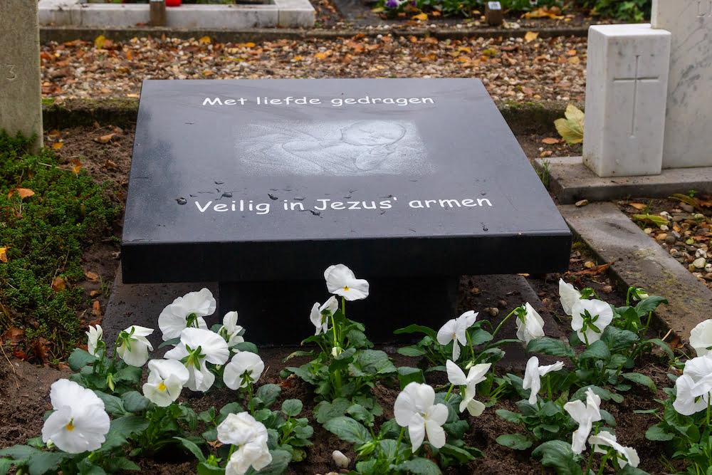 Monument voor gestorven kinderen