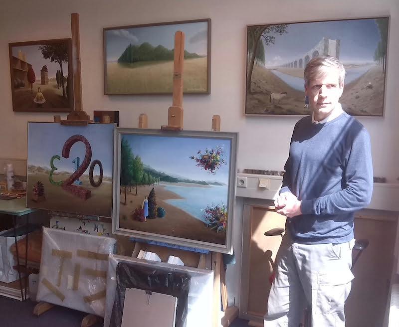 Nieuwe expositie Kunstuitleen Bollenstreek