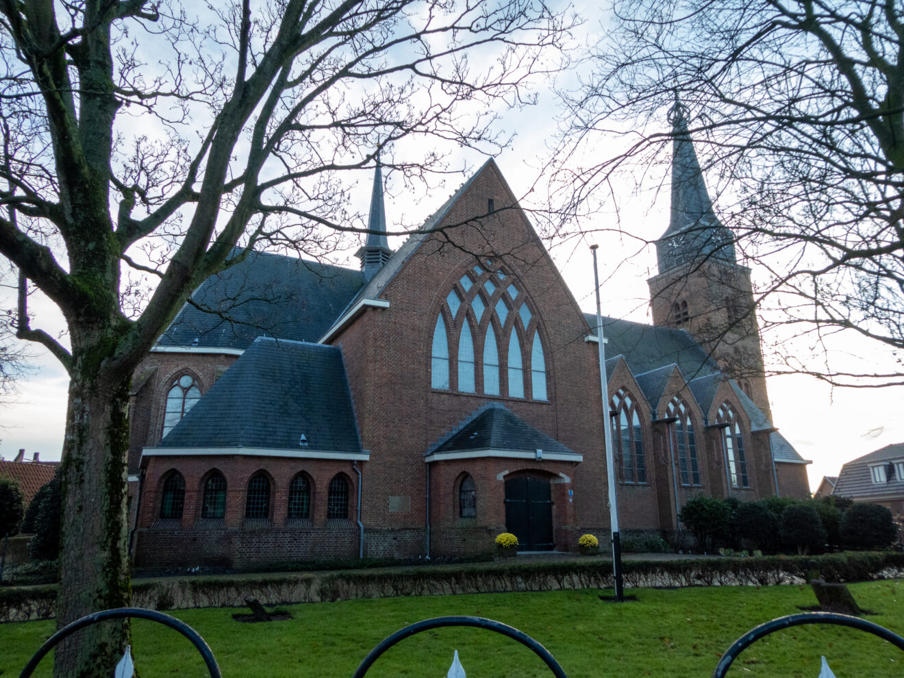 Reguliere diensten Maartenskerk Hillegom afgelast tot 19 januari