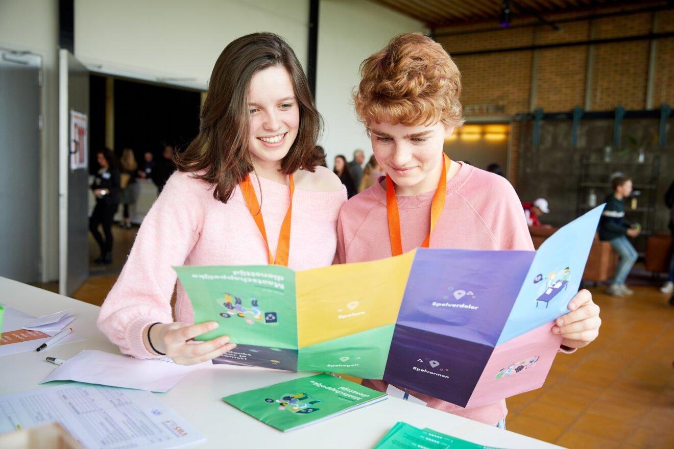 Programma voor jongeren om hun talent te ontdekken