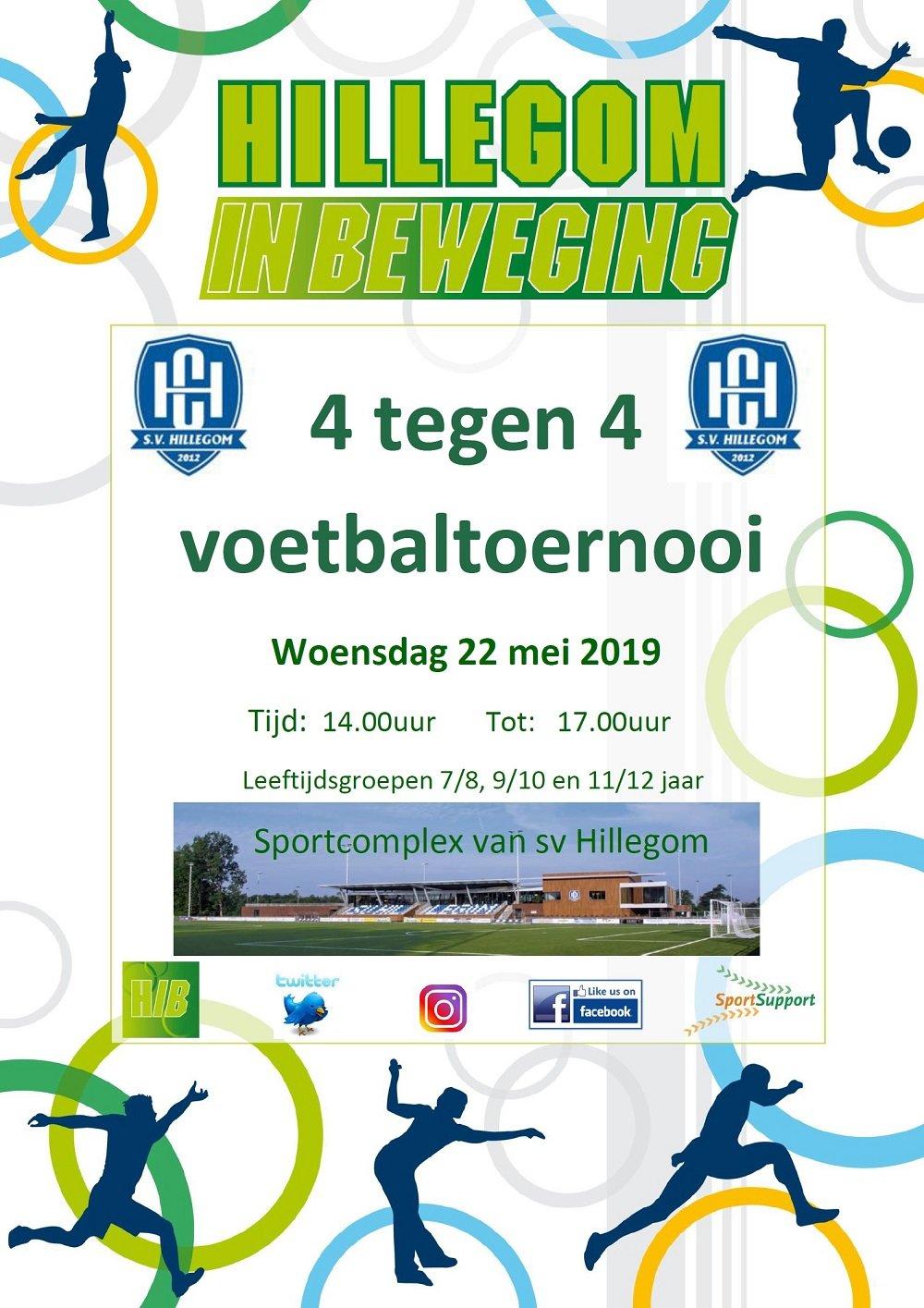 4x4 voetbaltoernooi SV Hillegom