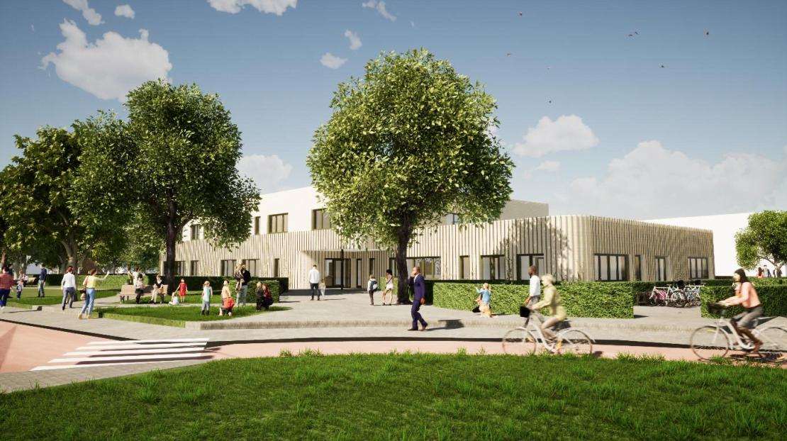 School en kinderopvang komen samen in Integraal Kindcentrum Hillegom