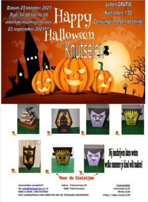 Halloween knutselen @ De Kapertjes | Hillegom | Zuid-Holland | Nederland