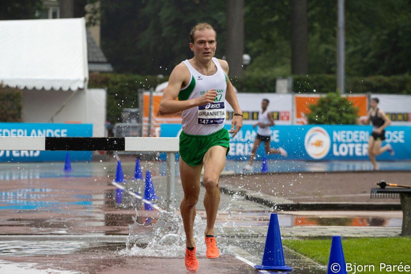 Simon Grannetia Nederlands Kampioen steeplechase