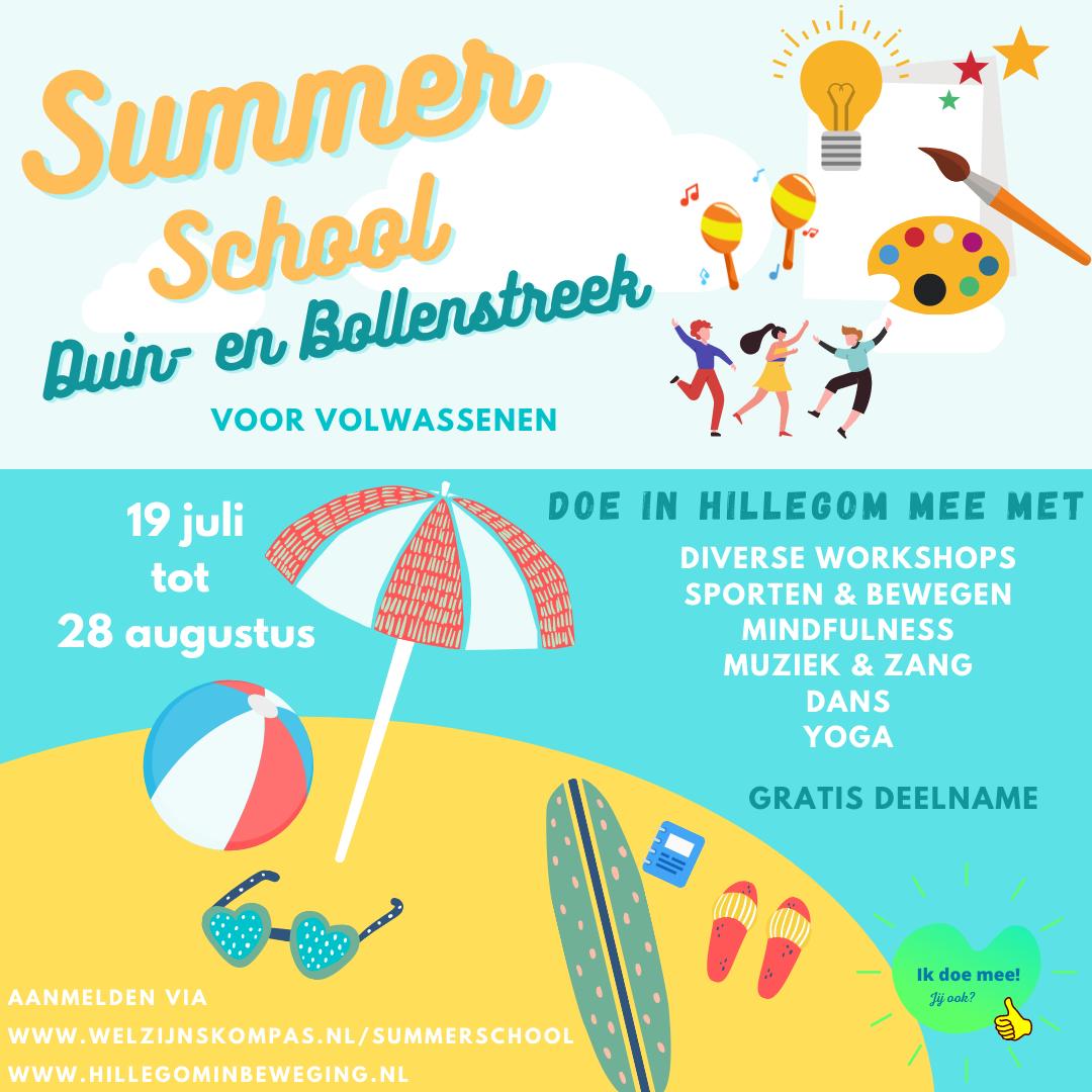 Summerschool voor volwassenen