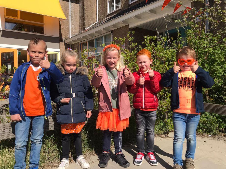 Koningsspelen op basisschool de Fontein
