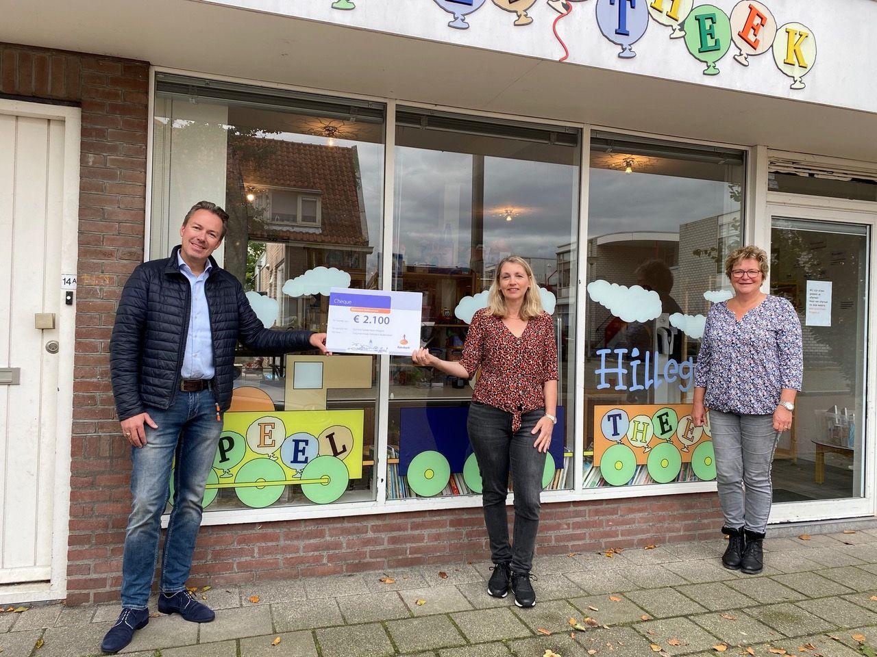 Rabobank Bollenstreek sponsort Speelotheek