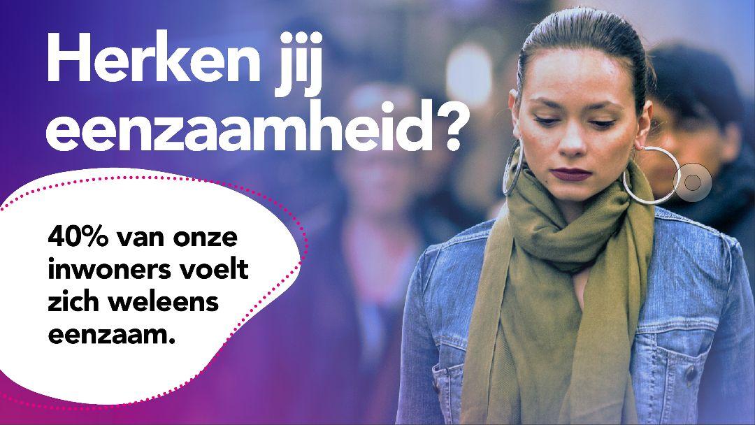 Campagne tegen eenzaamheid van start in Hillegom en Lisse