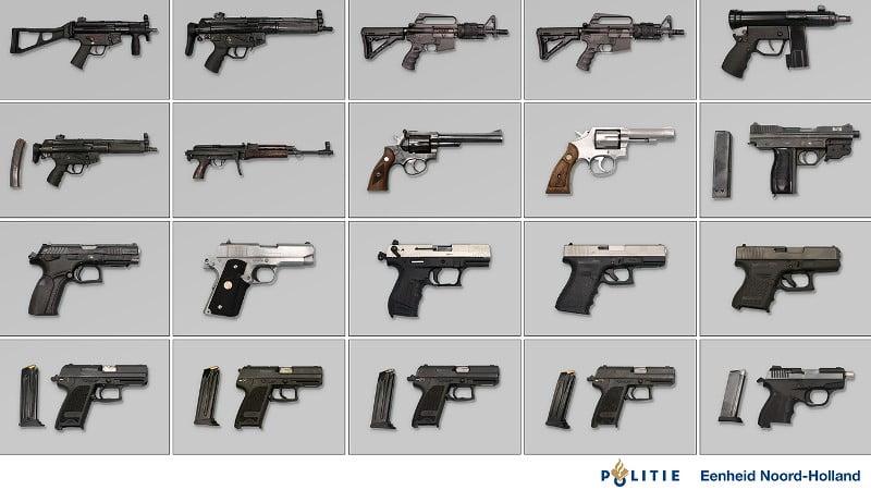 Inval in Hillegom in onderzoek naar wapenvondst