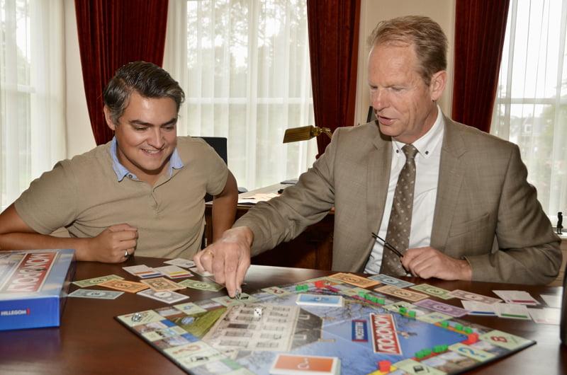 Hillegom heeft een eigen Monopoly-spel
