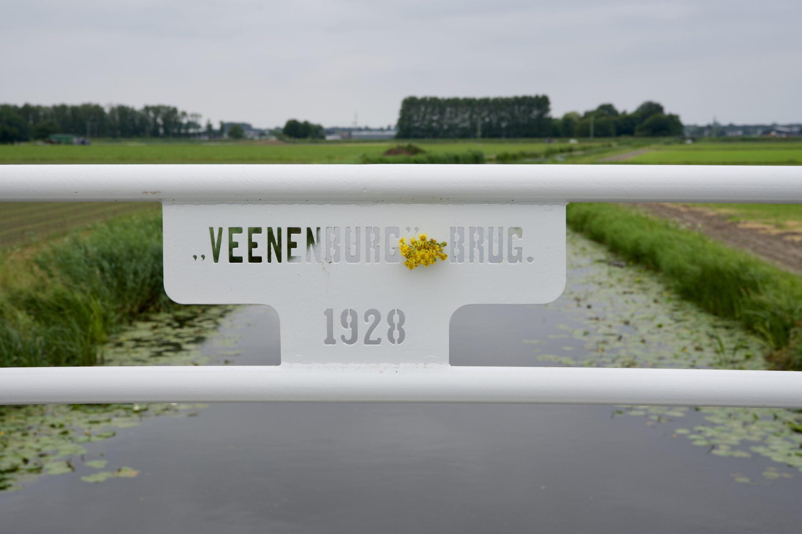Nieuwe Veenenburg brug geopend