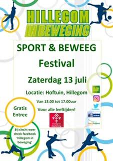 Sport en beweest festival @ Hoftuin | Hillegom | Zuid-Holland | Nederland