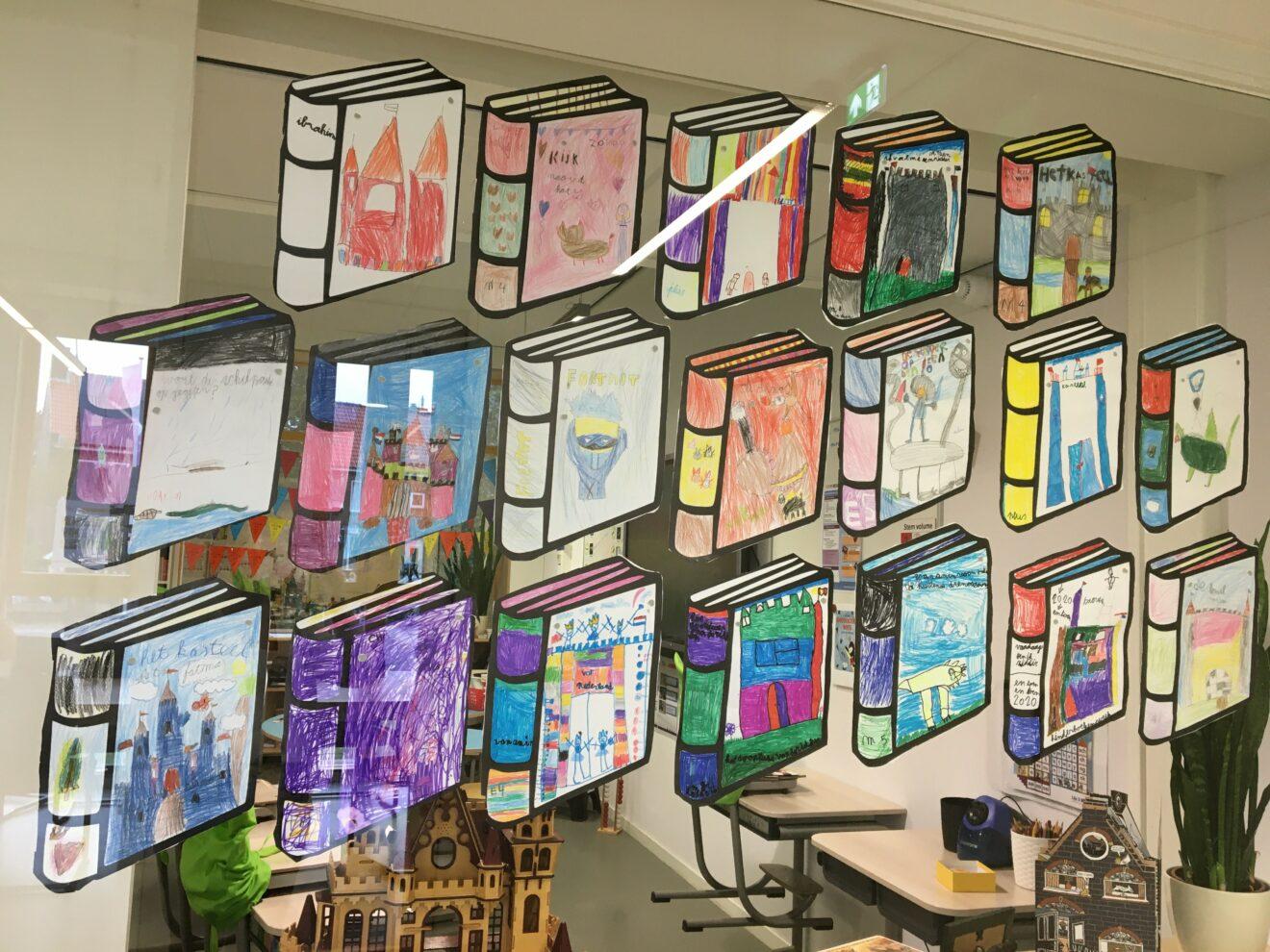 Daltonschool Hillegom terug in de tijd met Kinderboekenweek