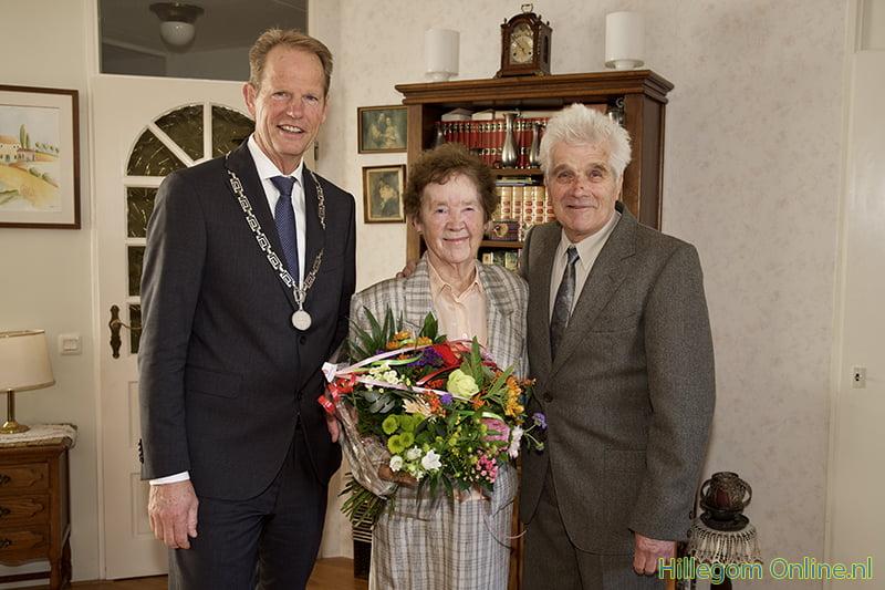 60-jarig bruidspaar Romijn-Jelierse