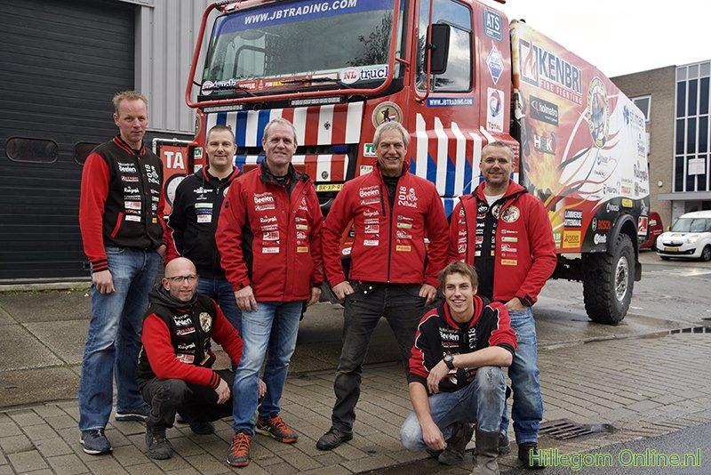 Fireman Dakarteam is klaar voor de race