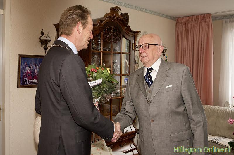 De heer Jaap van Schie 100 jaar