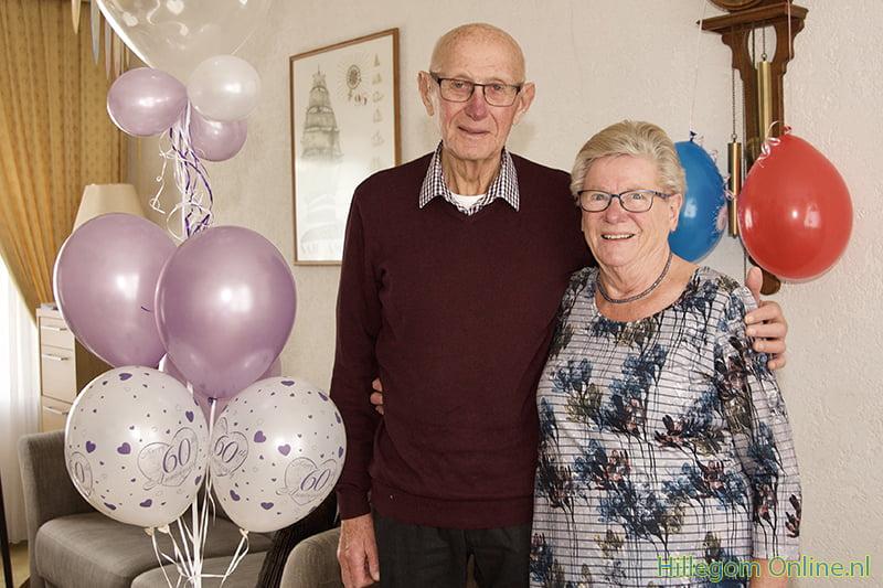60-jarig Bruidspaar Schreurs van der Linden