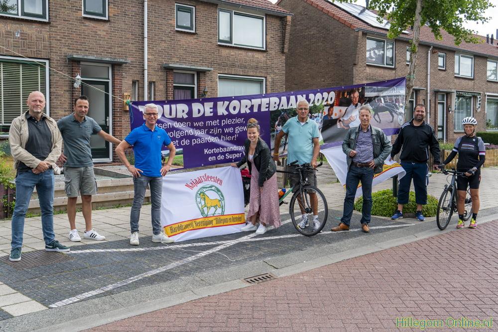 Kortebaandraverij.nl op de fiets in Hillegom