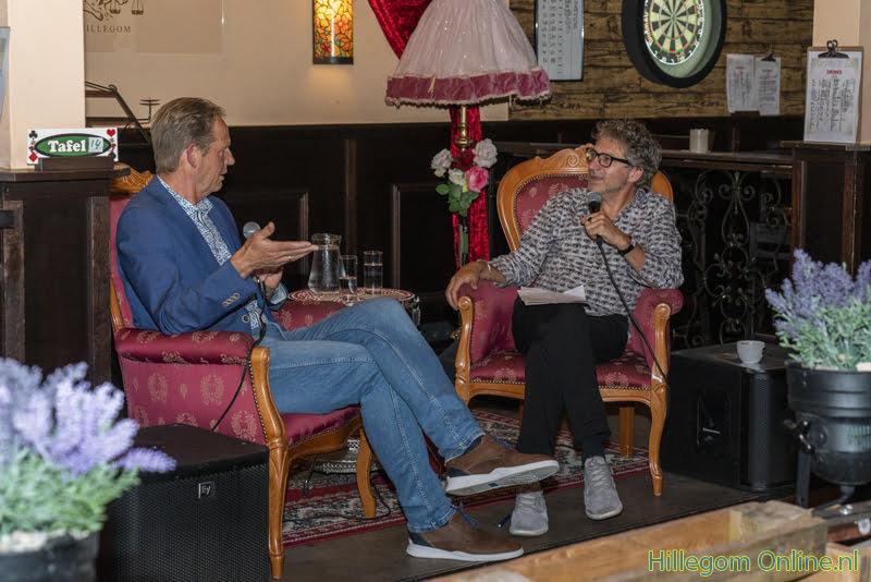 Eerste Murphy's talk met Frénk van der Linden en burgemeester Van Erk