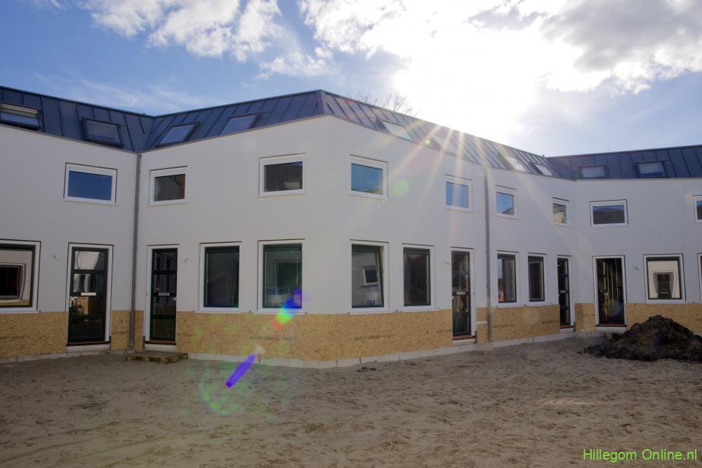 Oplevering huizen Parallelhof