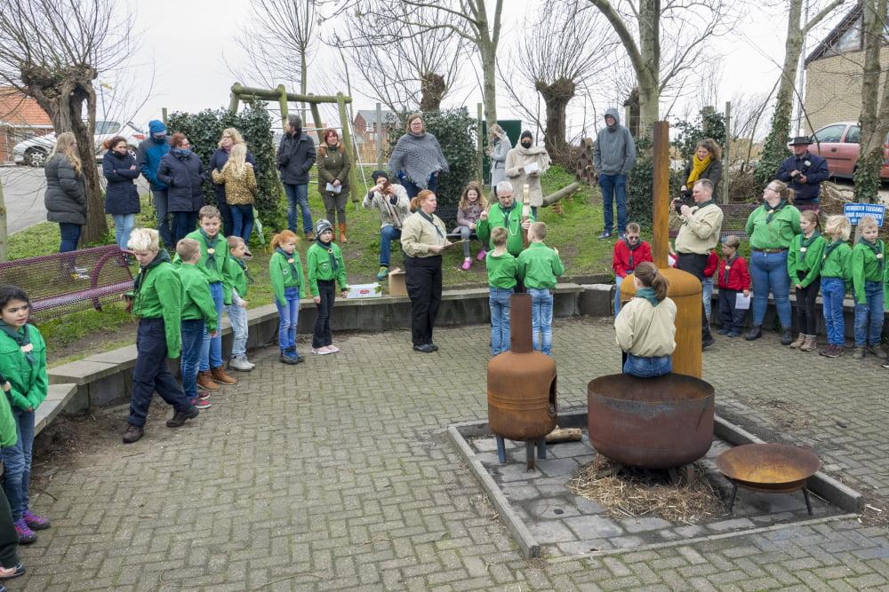 Scouting Hyllenkem heeft nieuwe mijlpaal bereikt
