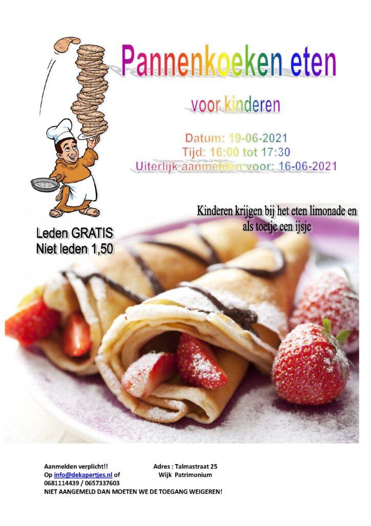 Pannenkoeken eten @ De Kapertjes | Hillegom | Zuid-Holland | Nederland