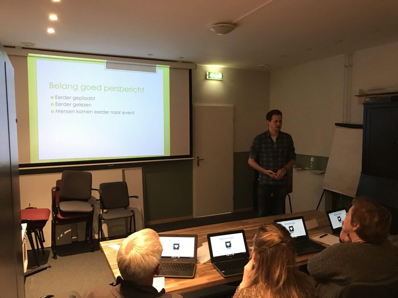 Workshops promotie en social media voor Hillegomse organisaties