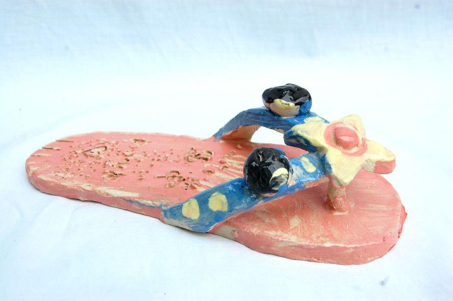 Keramische schoen
