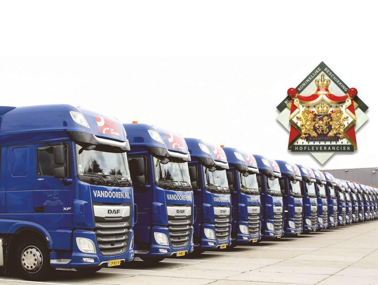 Van Dooren Transport is Hofleverancier
